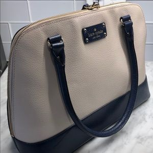 Kate Spade blue and navy bag
